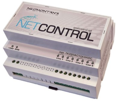 NetControl 4R6I2O front view