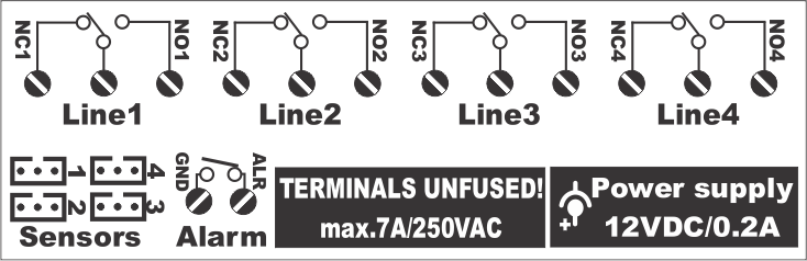 Terminals Drawing 4R4S1A WIFI